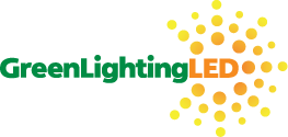 green lighting led logo