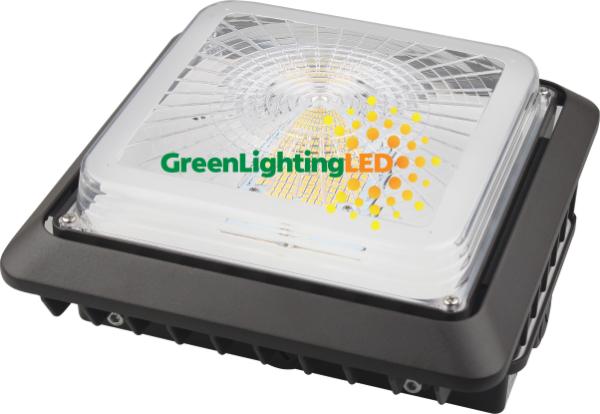 LED PG02 Canopy Fixture Angle