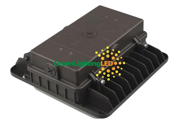 LED PG02 Canopy Fixture Back