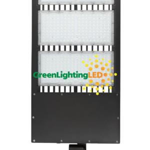 450 watt led multi purpose fixture direct pole mount