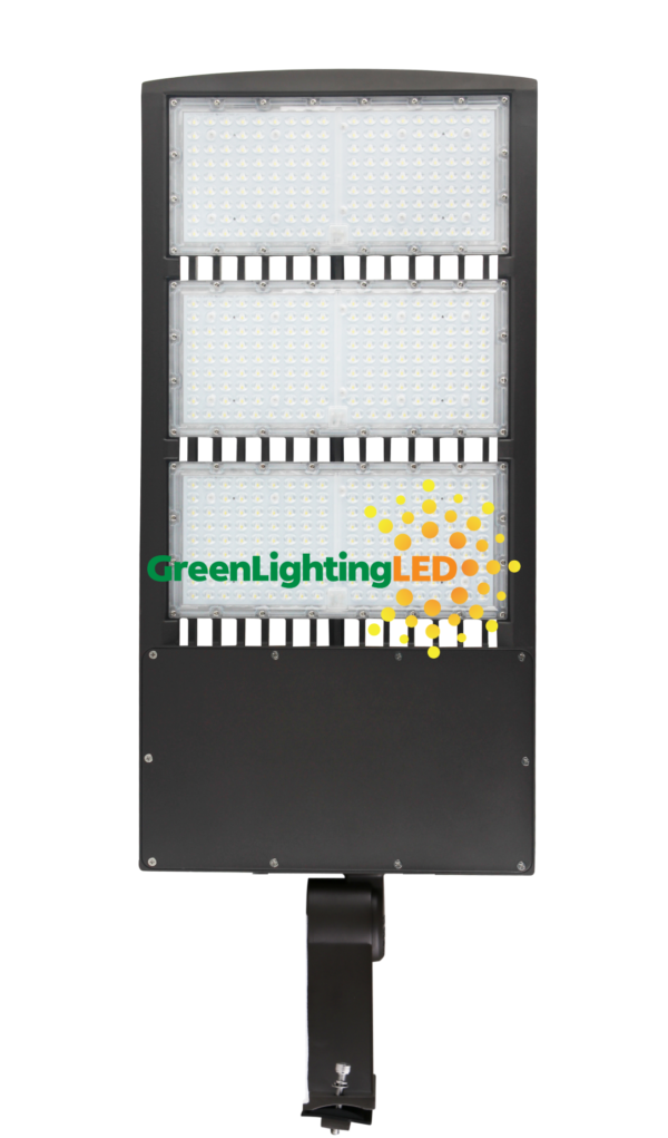 450 watt led multi purpose fixture direct pole mount