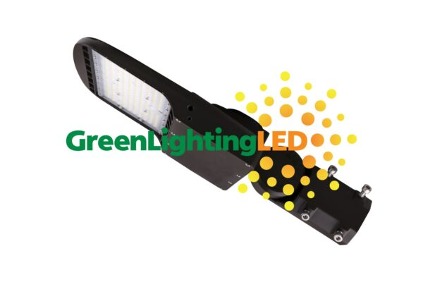 LED 150W Shoebox Multi Purpose Fixture Slip Fitter 480V High Voltage